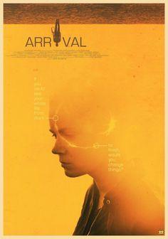 Arrival (Denis Villeneuve, Alternative Poster by Gokaiju Fiction Movies, Science Fiction Art, Sci Fi Movies, Movie Tv, Classic Movie Posters, Minimal Movie Posters, Cinema Posters, Arrival Movie, Denis Villeneuve
