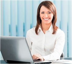 Photo about Businesswoman with laptop at office. Image of manager, face, european - 14313102 Nursing Ceu, Licensed Practical Nurse, Online Real Estate, Education And Training, Continuing Education, Business Women, Places To Visit, Stock Photos, People
