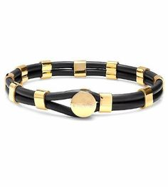 Black and Gold Fahari Bracelet - Save 84%