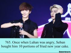 EXO Facts #765 ♥