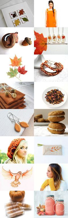 """""""Simply Autumn - an Etsy collection curated by Joy Grise @thejoyofcrochet"""