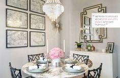 map_wallpaper_framed_art__glamorous_dining_room_faux_bamboo_black_white-15-940-700-100 « Elements of Style Blog