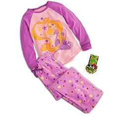 Disney Rapunzel Sleep Set for Girls | Disney StoreRapunzel Sleep Set for Girls - She'll awaken to see the light every morning in these warm Rapunzel pajamas. This enchanting sleepwear gift set includes pants made of soft and warm fabric with a lightweight raglan sleeve top.