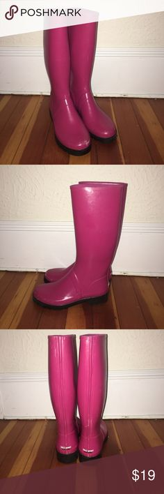 Women's Rain Boots Women's Designer rain boots by polo sport, awesome condition Polo Sport Shoes Winter & Rain Boots