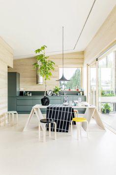 Kitchen dream.  Finnish design, Puustelli kitchen & Marimekko.   Köksdrömmar från Puustelli kök och Marimekko.
