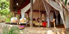 Cool tented eco-lodge in Anjuna, Goa!