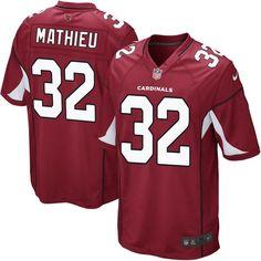 Tyrann Mathieu Arizona Cardinals Nike Game Jersey - Cardinal - $99.99