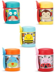Skip Hop Zoo: Thermos- Riley  Butterfly or lady bug