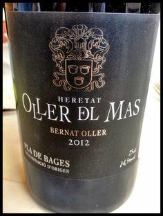 El Alma del Vino.: Heretat Oller del Mas Bernat Oller Negre 2012.