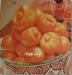 Cocina con Nora (cocina marroquí): Limones confitados de Marruecos