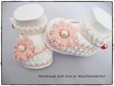 Strick & Häkelschuhe - детская обувь - дизайн кусок сетки laedchen на DaWanda