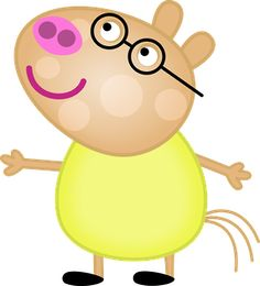 Clipart de Peppa Pig y su Familia. | Ideas y material gratis para fiestas y celebraciones Oh My Fiesta!