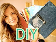 DIY Notebooks & Folders : Back to School