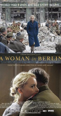 Directed by Max Färberböck. With Nina Hoss, Evgeniy Sidikhin, Irm Hermann, Rüdiger Vogler. A woman tries to survive the invasion of Berlin by the Soviet troops during the last days of World War II. Good Movies On Netflix, Good Movies To Watch, Great Movies, Tv Series To Watch, Series Movies, See Movie, Movie Tv, Movies Showing, Movies And Tv Shows
