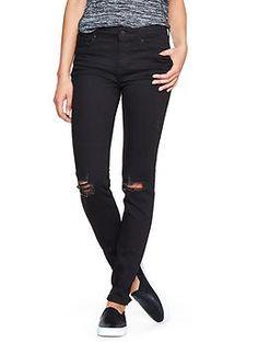 Factory destructed always skinny jeans | Gap