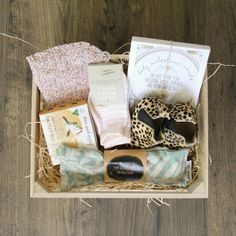 Mother and baby gift hamper www.theboutiquebox.com.au