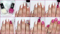 Tutorial Saran Wrap Nails Nageldesign, ANNY
