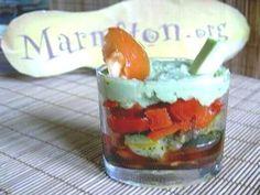 Verrines de légumes : Recette de Verrines de légumes - Marmiton
