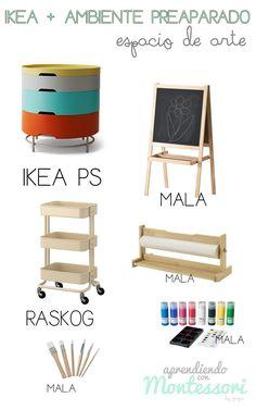 Aprendiendo con Montessori: Ikea y Ambiente Preparado