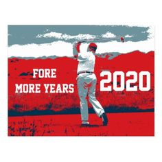 Donald Trump Fore More Years Postcard - postcard post card postcards unique diy cyo customize personalize