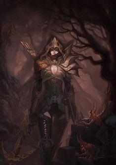 Demon Hunter by shuzong on DeviantArt