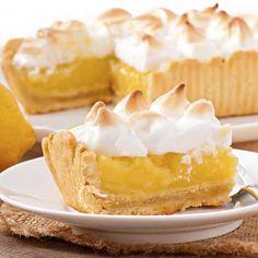 Postre de lemon pie