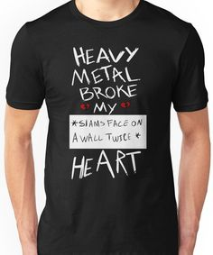 Fall Out Boy Centuries - Heavy Metal Broke My Heart Unisex T-Shirt https://twitter.com/gaefaefagaea4/status/895099552956416000