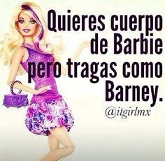 Barbie. Jajajaja! #mexican #humor