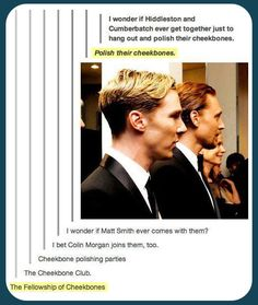 the fellowship of the cheekbones