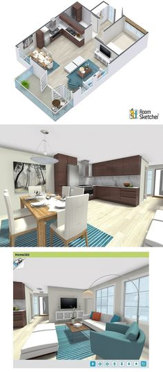 Case study roomsketcher vip user christer vedo remodeled for 3d virtual tour house plans