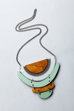 Kite Geometrical necklace statement by ShaniJacobiJewellery, $69.99