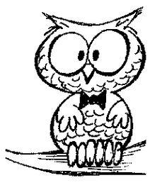 coruja lendo livro desenho - Pesquisa Google