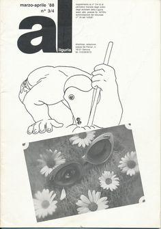 1988 al n.3-4_copertina & retro e curatela  by Brunetto De Batté