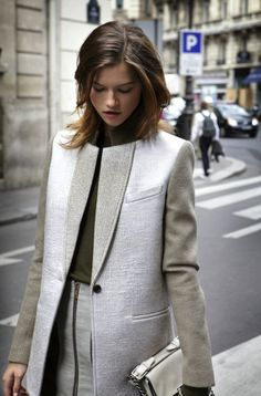 Beautiful coat.