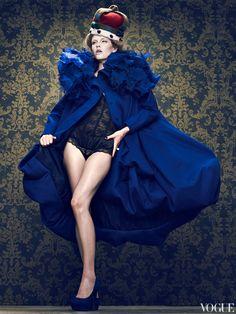 Russian Vogue -  Queen 2012