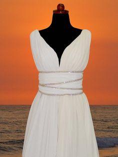 greek inspired wedding dress!