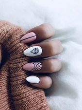Diamond Nails: 30 Nail Designs with Diamonds 30 Beautiful Diamond Nail Art Designs Cute Acrylic Nails, Cute Nails, My Nails, Oval Nails, Stylish Nails, Trendy Nails, Nail Manicure, Nail Polish, Manicure Ideas