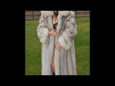 Woman In White Fox Fur Part 23