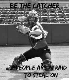 Sport For > Softball Catcher Quotes Inspirational Softball Quotes, Funny Softball Quotes, Softball Cheers, Softball Shirts, Softball Pictures, Girls Softball, Sport Quotes, Softball Stuff, Softball Crafts