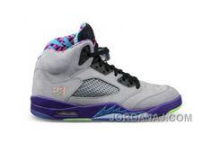 huge discount 53918 aa3ed Buy 2015 New Air Jordan 5 Bel Air (Cool Grey Court Purple-Game Royal-Club  Pink) Shoes Sneakers Sale from Reliable 2015 New Air Jordan 5 Bel Air (Cool  ...