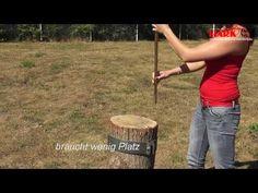 HARK Kaminofen Smart Splitter - YouTube