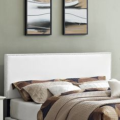 You'll love the Phoebe Upholstered Headboard at Wayfair - Great Deals on all Furniture  products with Free Shipping on most stuff, even the big stuff.