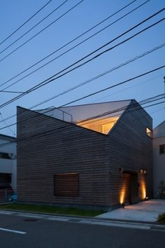 Exterior Ofuna house Japanese Architecture With a Playful Dimension: House in Ofuna. {Love this, very minimalist but really nice! Minimalist Architecture, Japanese Architecture, Residential Architecture, Contemporary Architecture, Architecture Details, Interior Architecture, House Architecture, Photo D'architecture, Japanese House