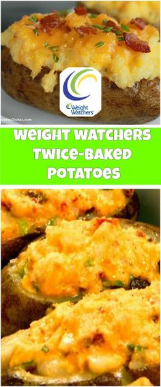 Twice-Baked Potatoes 2 smartpoints - weight watchers recipes