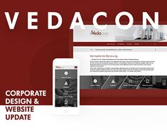 """Check out new work on my @Behance portfolio: """"Vedacon – Corporate Design Update"""" http://be.net/gallery/60133427/Vedacon-Corporate-Design-Update"""