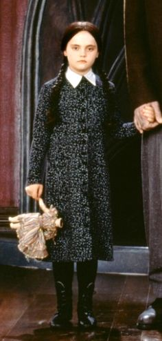 Wednesday Addams's outfit.