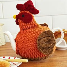 Free Patterns - 20+ Tea Cozy to Knit & Crochet