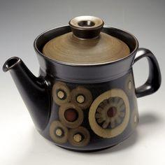 Denby Arabesque / Samarkand Large 38 fl oz Tea Pot & Cover | eBay
