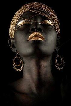black gold beauty