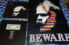 Bonnie Prince Billy~Beware~Will Oldham~POSTER~Joshua Abrams/Michael Zerang-LP Record Vinyl